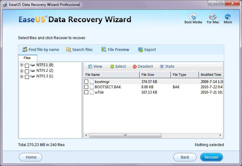easeus data