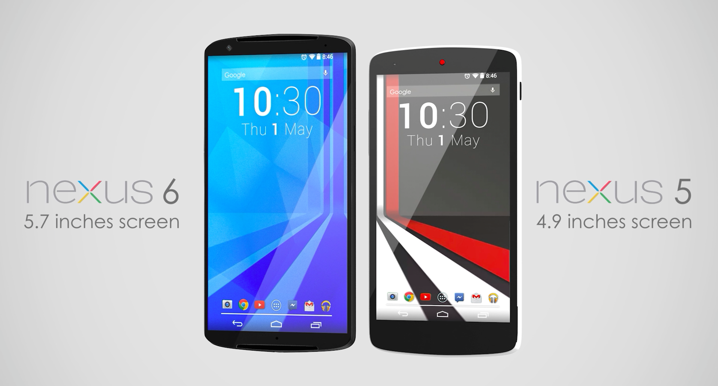 Google phone nexus 6