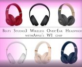 Beats Studio3 Wireless Over‑Ear Headphones Have Better Noise Canceling And Apple's W1 Chip