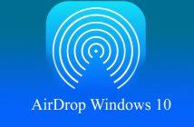 AirDrop Windows 10