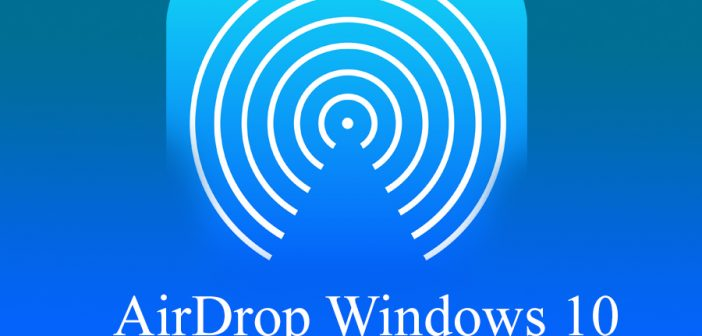 AirDrop Windows 10