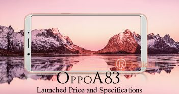 Oppo A83 Officially Launched Its Price and Specifications