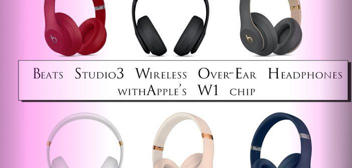 Beats Studio3 iPhone wireless headphones