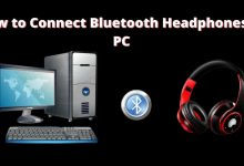 how to connect Bluetooth headphones to PC